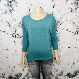 Adrienne Vittadini Long Sleeve Shirt Size Small